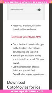 Cotomovies apk latest version free download